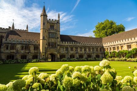 Magdalen College, Oxford University, Oxford, Oxfordshire, England, United Kingdom