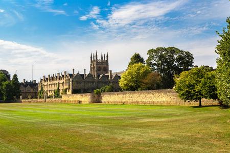 Merton College, Oxford University, Oxford, Oxfordshire, England, United Kingdom