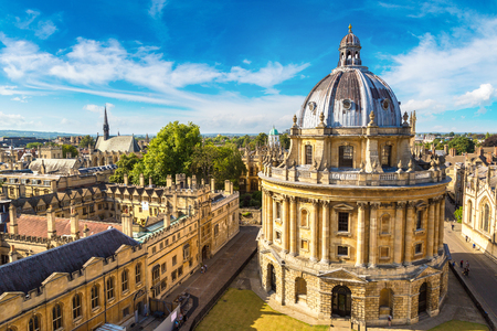 Radcliffe Camera, Bodleian Library, Oxford University, Oxford, Oxfordshire, England, United Kingdom 報道画像