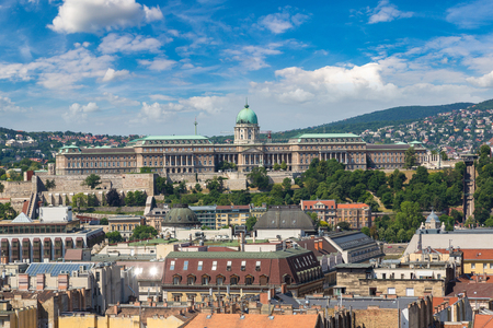 Panoramic view of  Budapest in Hungary in a beautiful summer day Reklamní fotografie