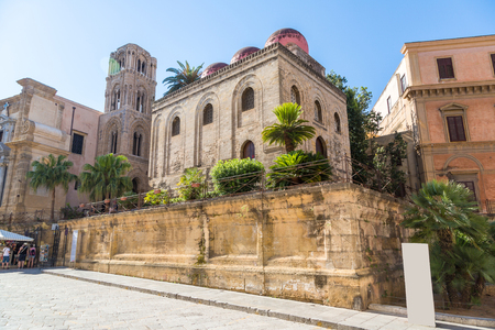 Church of San Cataldo in Palermo, Italy in a beautiful summer day Reklamní fotografie