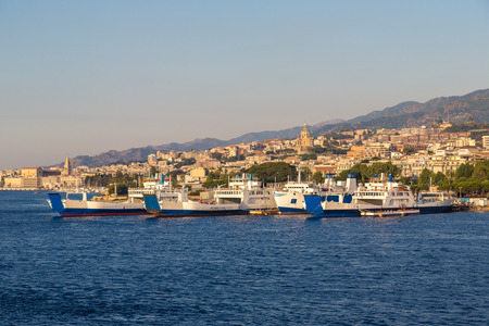 Messina in Italy in a beautiful summer day
