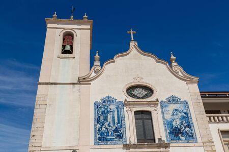 Church of Vera Cruz in Aveiro, Portugal in a beautiful summer day