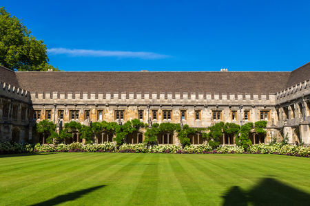 Magdalen College, Oxford University, Oxford, Oxfordshire, England, United Kingdom Stock Photo