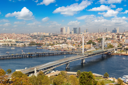 Istanbul view, Turkey in a beautiful summer day Stock Photo