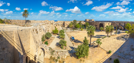 Kyrenia Castle in Kyrenia (Girne), North Cyprus in a beautiful summer day
