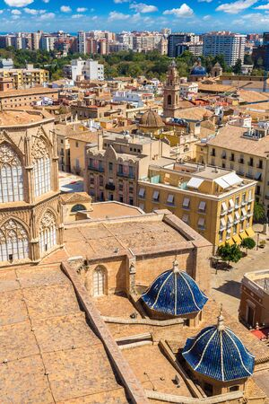 Aerial view of Valencia in a summer day, Spain Reklamní fotografie