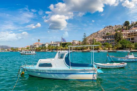 Grecia, Nauplia in una bella giornata estiva Archivio Fotografico