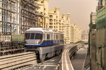 Monorail station in Dubai, United Arab Emirates
