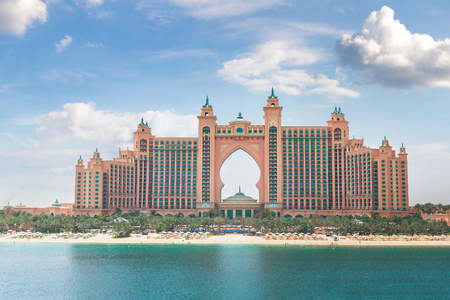DUBAI, UAE - JUNE 26, 2018: Atlantis, The Palm Hotel in Dubai, United Arab Emirates Éditoriale