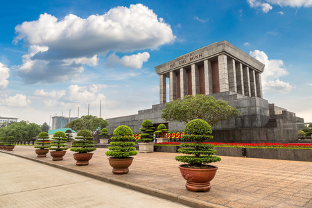 Ho Chi Minh Mausoleum in Hanoi, Vietnam in a summer day Фото со стока - 108435137