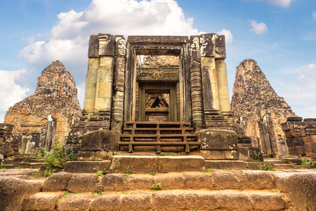 Pre Rup temple in complex Angkor Wat in Siem Reap, Cambodia in a summer day