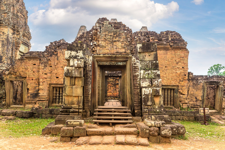 Pre Rup temple in complex Angkor Wat in Siem Reap, Cambodia in a summer day Stock fotó