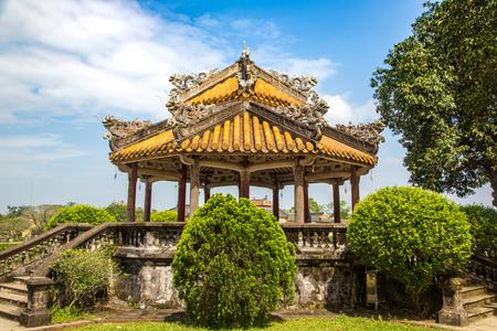 Citadel, Imperial Royal Palace, Forbidden city in Hue, Vietnam in a summer day Stock fotó