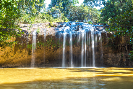 Prenn Waterfall in Dalat, Vietnam in a summer day