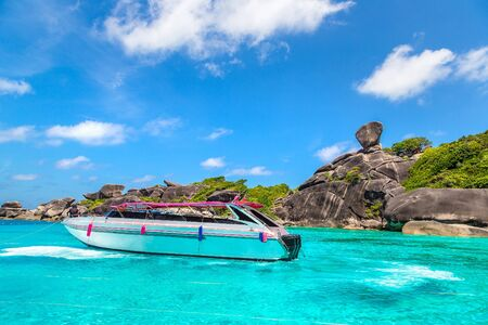 Tropical landscape on Similan islands, Thailand in a summer day Stock Photo - 125461809