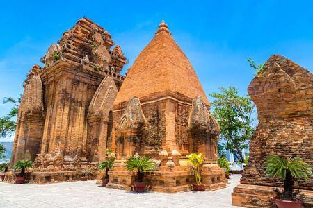 Ponagar (Thap Ba Po Nagar) - Cham temple in Nha Trang, Vietnam in a summer day