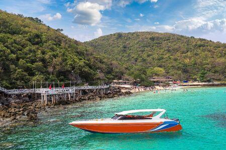 Koh Lan island, Thailand in a summer day Reklamní fotografie