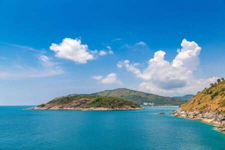 Panoramic view of  Phuket in Thailand in a summer day Reklamní fotografie