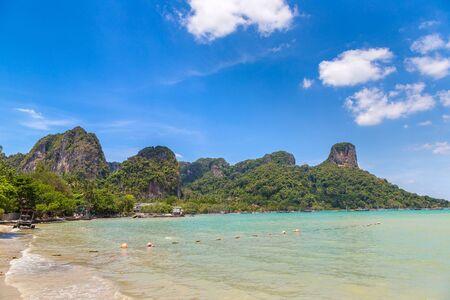 Ao Phra Nang Beach, Krabi, Thailand in a summer day