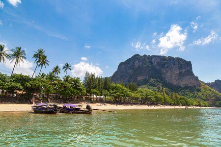 Ao Nang beach, Krabi, Thailand in a summer day Reklamní fotografie