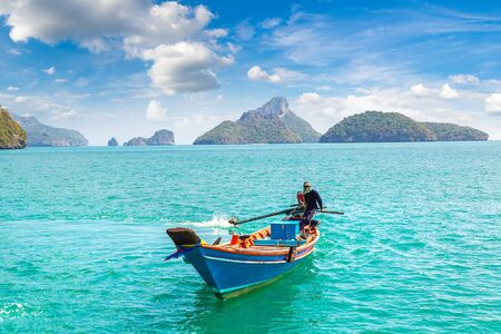 Mu Ko Ang Thong National Park, Thailand in a summer day Reklamní fotografie