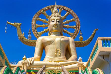 Big Buddha on Koh Samui, Thailand in a summer day