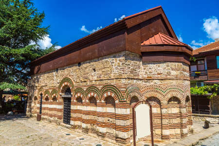 Old church in Nessebar, Bulgaria in a beautiful summer day