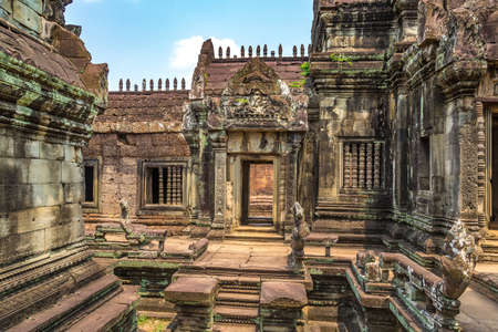 Banteay Samre temple in complex Angkor Wat in Siem Reap, Cambodia in a summer day Banque d'images