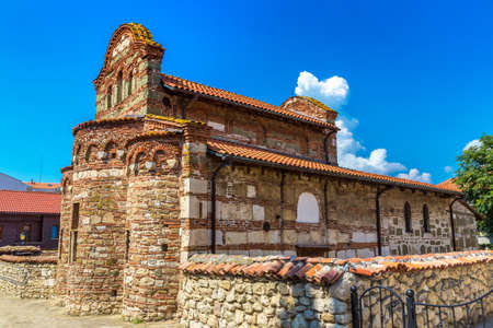 Church of Saint Stephen in Nessebar, Bulgaria in a beautiful summer day