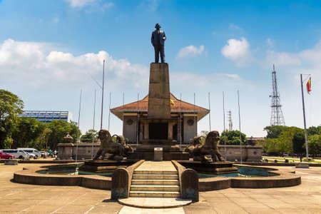 Independence Memorial Hall in Colombo, Sri Lanka Standard-Bild
