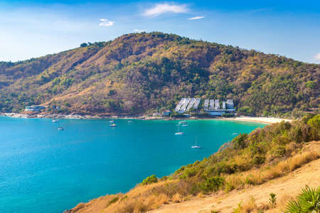 Panoramic view of  Phuket in Thailand in a summer day Фото со стока