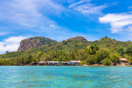 View at Koh Mook island in a sunny day, Thailand