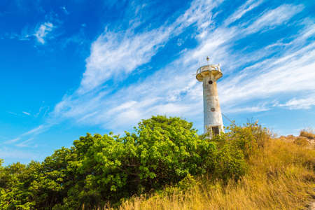 Lighthouse at Mu Ko Lanta National Park on Koh Lanta Yai island, Krabi, Thailand