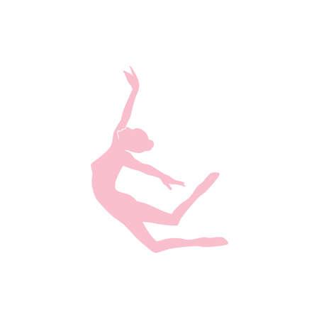 elegant  ballet dancer vector illustration Banque d'images - 106240535