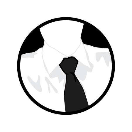 close up, businessman's collar