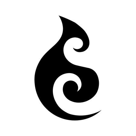 Moana. Maori sea symbol