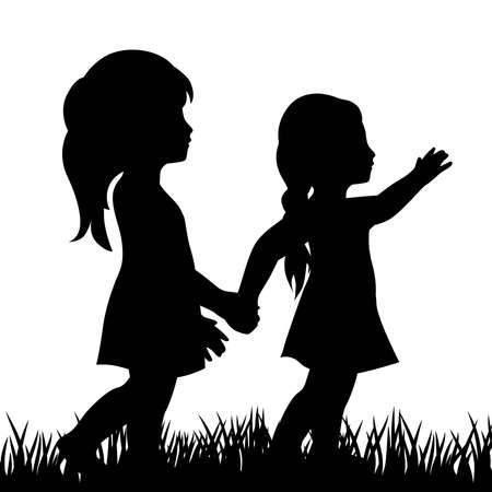 due bambine