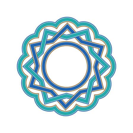 Oriental vector frame