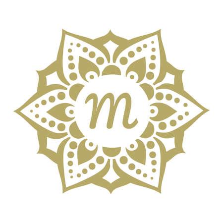 gold ornamental frame, vector