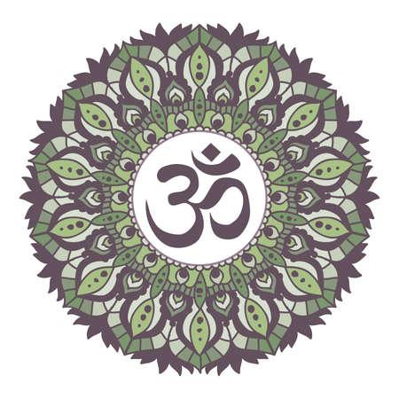 colorful mandala, vector Ilustrace