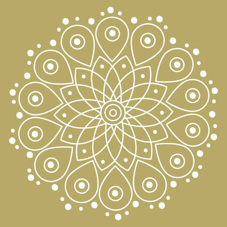 ornamental, mandala like