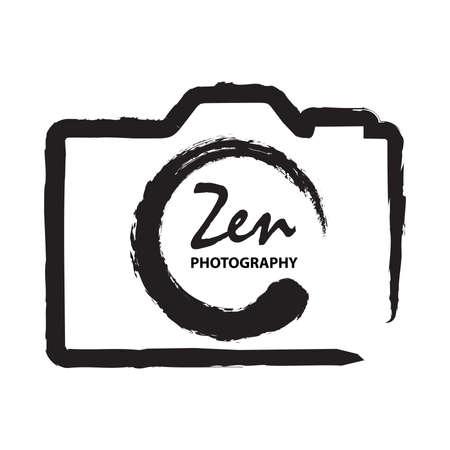 Zen Symbol as a part of photo camera