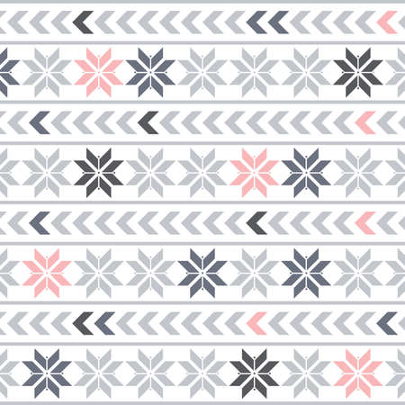 abstract snowflake pattern, vector background