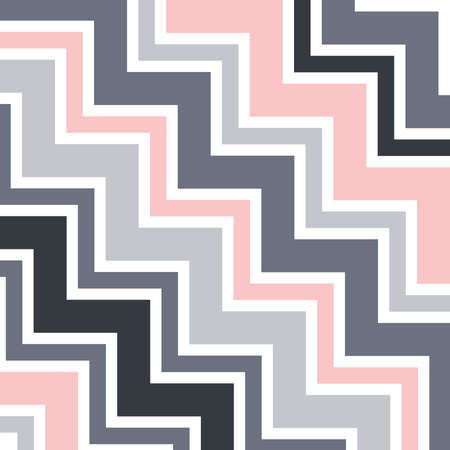 gray, white and pink chevron pattern, vector background