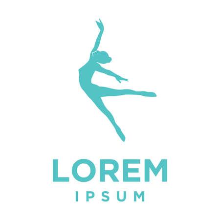 ballerina, vector graphic design element