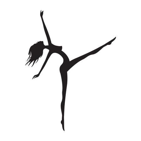 abstract ballerina, vector
