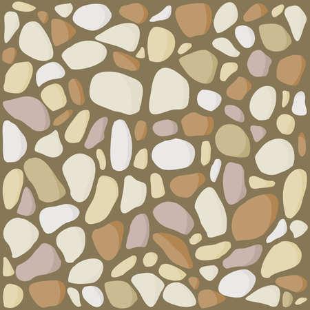 pebbles, label vector background