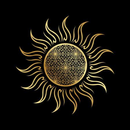 Gold Sun, vector