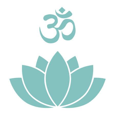 lotus flower, vector Vetores